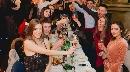 Brindisi ai tavoli Foto - Capodanno Belle Epoque in centro a Brescia